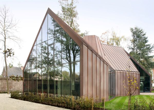 Copper clad house1