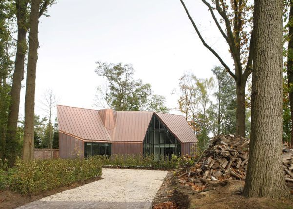 Copper clad house7
