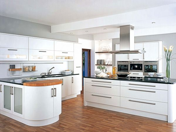 White Kitchen 2014 chic white kitchens for 2014