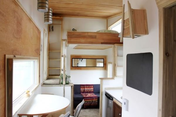view in gallery - Compact House Interior