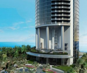 The Miami 60-Story Porsche Design Tower Featuring Three Car Elevators