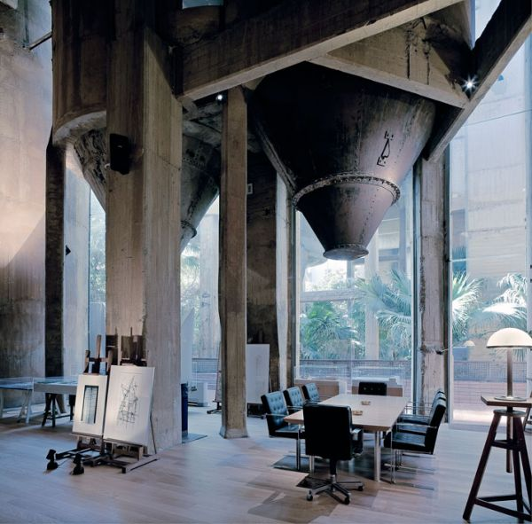 Architect Transforms A Cement Factory Into A Spacious And Inviting Home