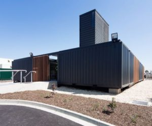 Room 11 – An Office Building Made Of Shipping Containers