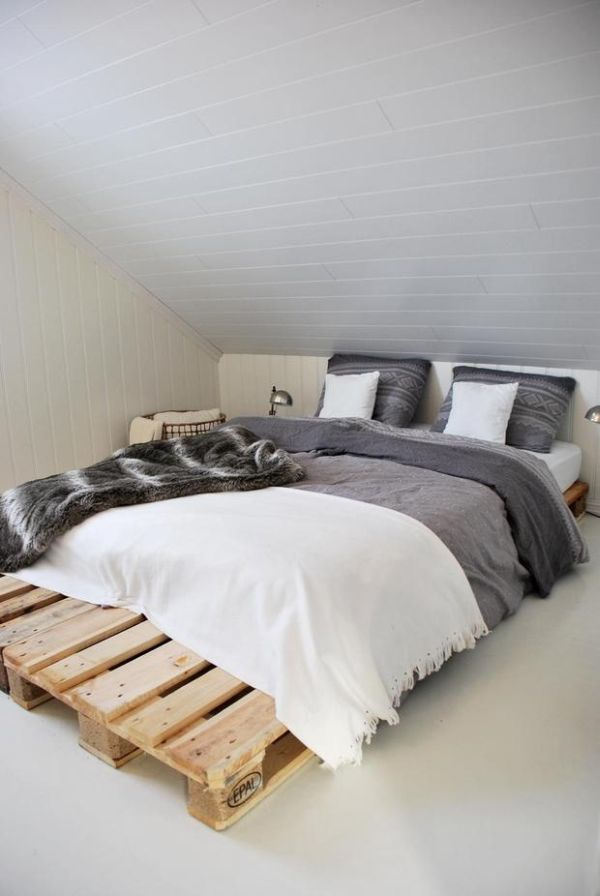 Pallet Bedroom Furniture pallet addicted - 30 bed frames made of recycled pallets