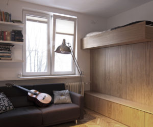 Small Bachelor Apartment With A Very Practical Design 22 Square Meters