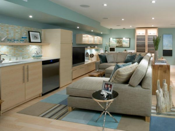 Tips For Making A Basement Feel Bright, How To Make A Basement Room Look Brighter