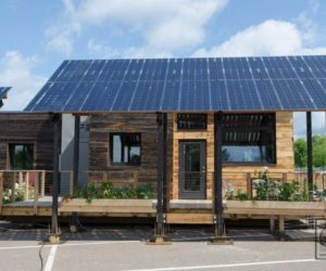 The Insite Home – A Tiny Solar-Powered House In Vermont Built Of Reclaimed Materials