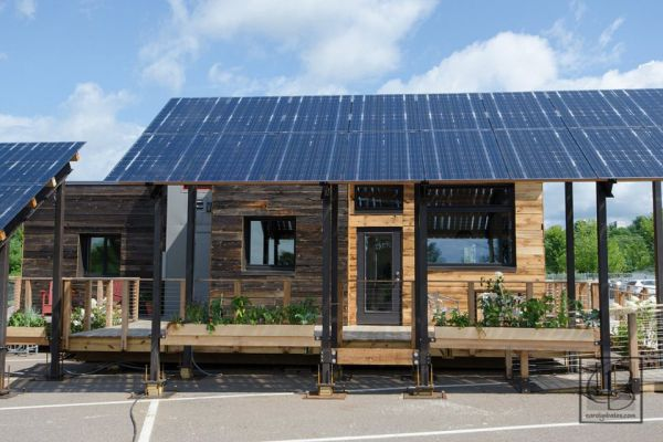The Insite Home A Tiny Solar Powered House In Vermont