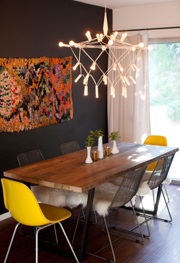 Dont Be Afraid Incorporating Dark Walls Into Your Home