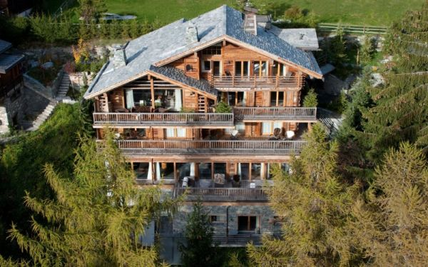 With A Total Of Five Floors, This Is Hardly A Typical Chalet. The Interior  Design ...