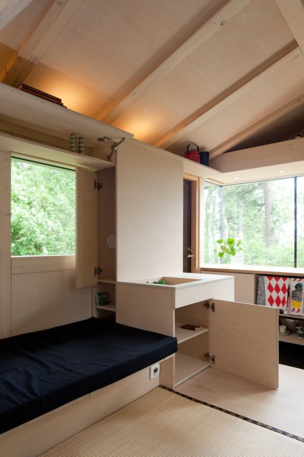 Tiny House Maximizes Space With Flexible Interior Gizmag