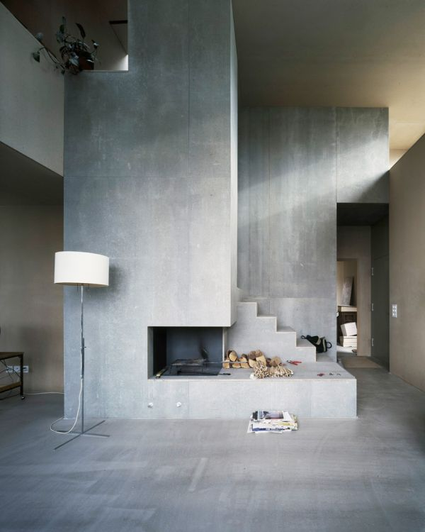 Industrial chic concrete isn 39 t just for sidewalks anymore for Exposed concrete walls interior