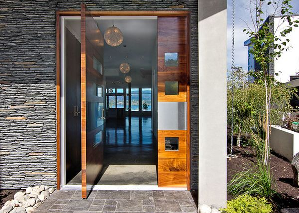 View in gallery Although pivot doors ... & Impress Your Guests and Increase The Entryway Appeal With Pivot Doors Pezcame.Com