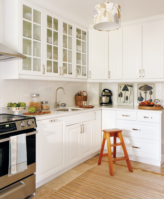 Classic White Kitchen chic white kitchens for 2014