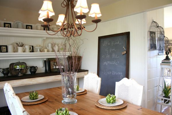 Framed Chalkboards Customizable And Also Functional Accent - Chalkboard accents dining rooms