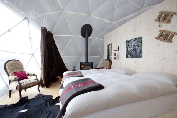 Winter Resort Eco Dome Hotel