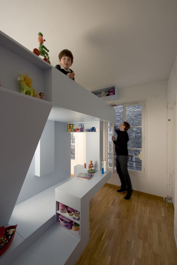 sleep and play 25 amazing loft design ideas for kids - Rooms Design Ideas