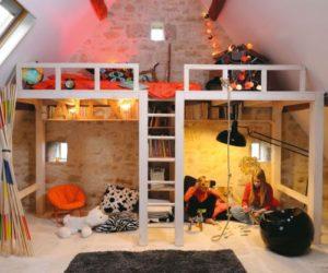 Sleep And Play – 25 Amazing Loft Design Ideas For Kids