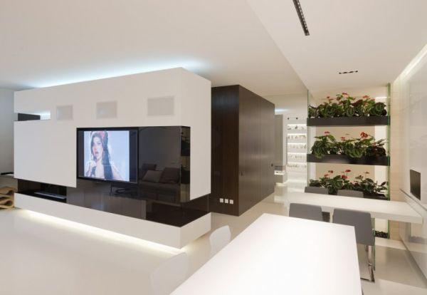 Minimalist apartment interior design with a luxurious touch for Minimalist apartment design