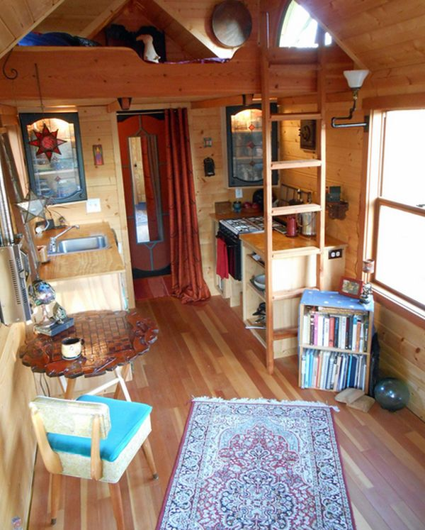 mighty micro house - Tiny House Inside