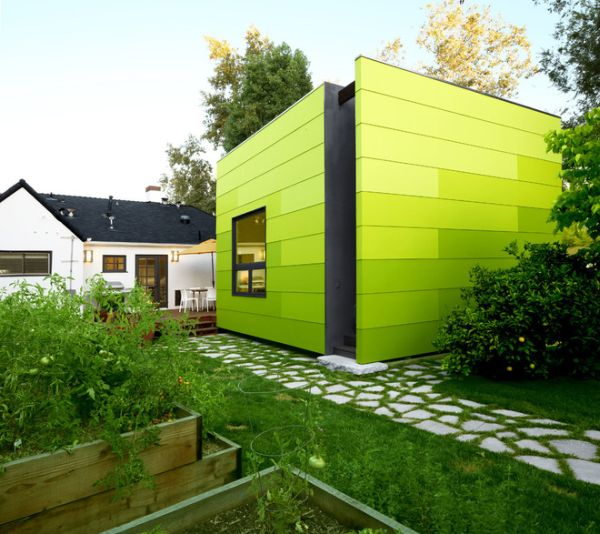 Beautiful Green Houses Of All Shades