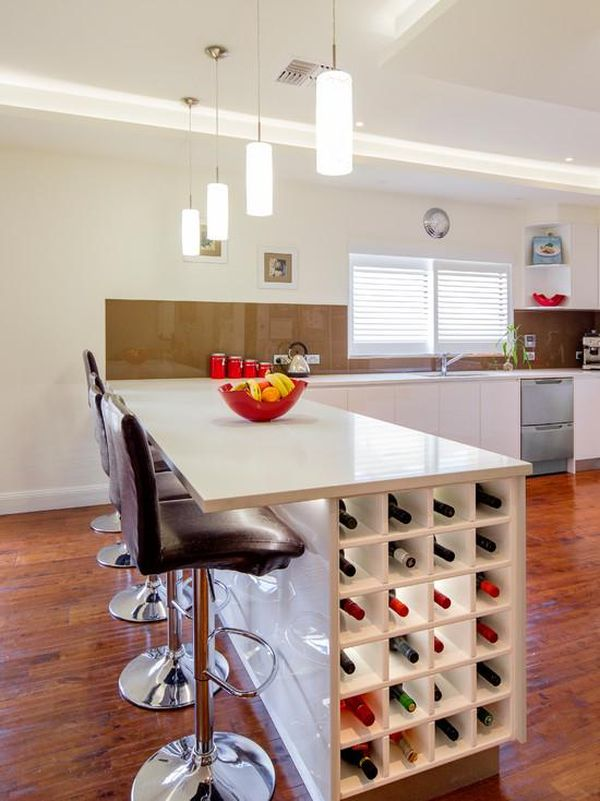 How You Can Incorporate Wine Racks Into Your Design Without Wasting E