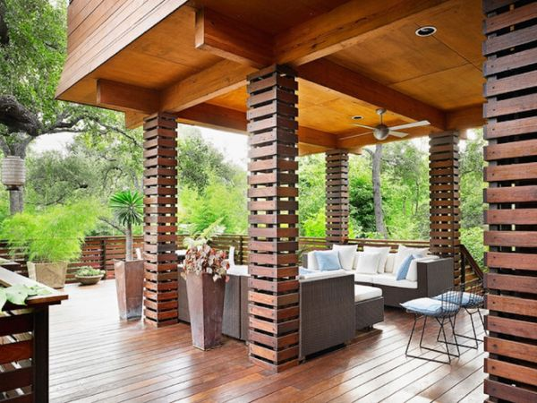 Columns inside and outside the house view in gallery solutioingenieria Choice Image