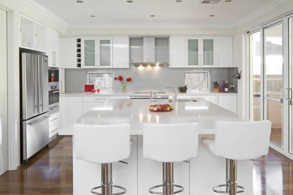 White Kitchen Design 2014 chic white kitchens for 2014