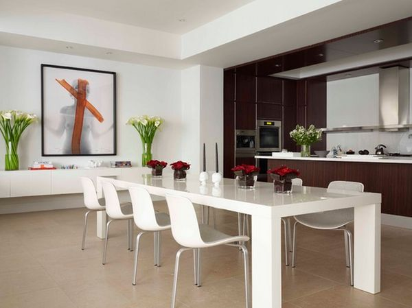 White Modern Dining Room 50 modern dining room designs for the super stylish contemporary home