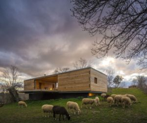 Contemporary Meadow Refuge In Spain With Views Of The Mountains