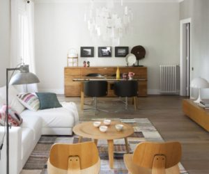 Nordic simplicity and Spanish energy meet in a contemporary Barcelona apartment