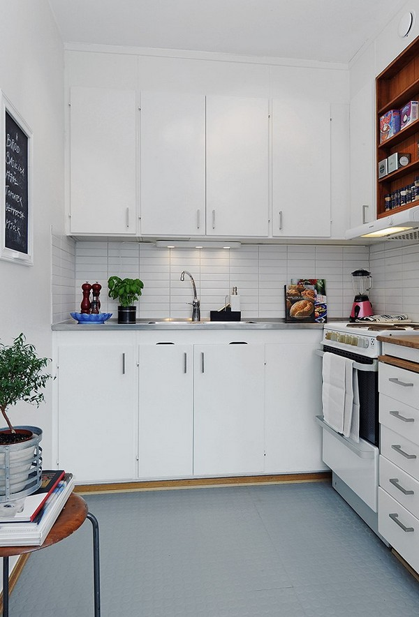 10 small one room apartments featuring a scandinavian d cor On 1 room kitchen decoration