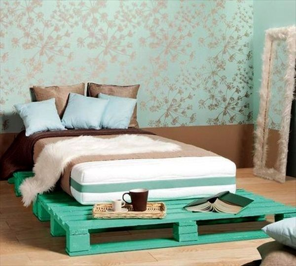 Amazing Pallet Bed Frame Design Ideas