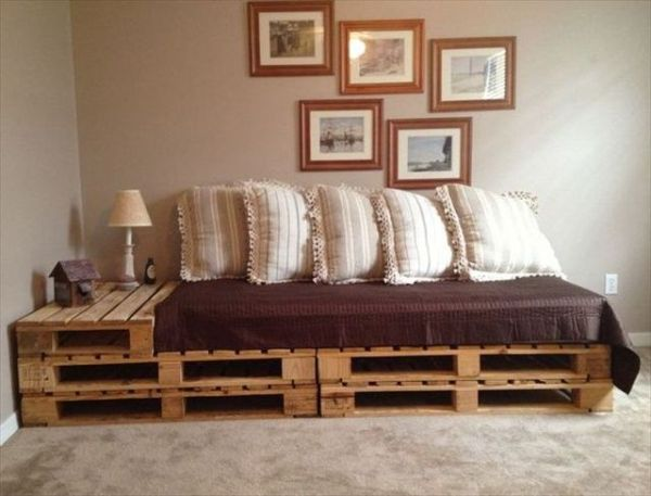 Modern Pallet Bed Frame Ideas
