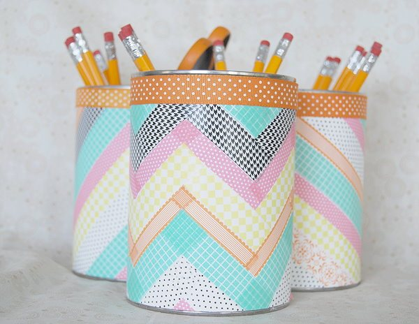 Different ways to use washi tape for How do you use washi tape