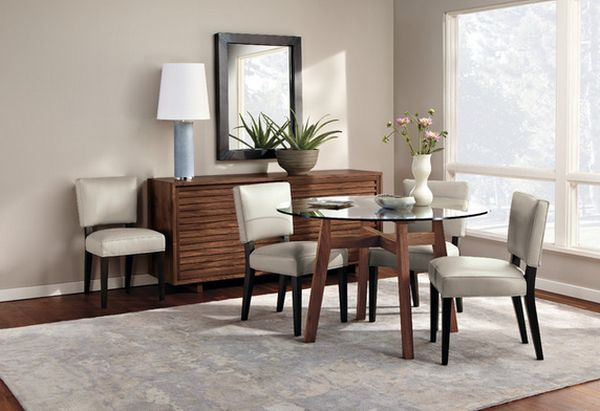 50 modern dining room designs for the super stylish for Relaxed dining room ideas