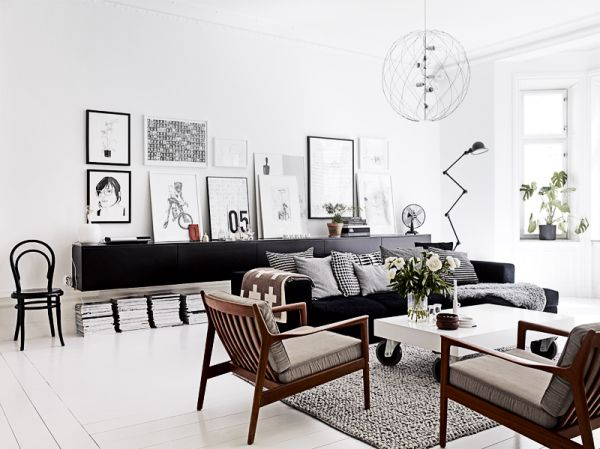 A room by room guide to scandinavian style for Wohnzimmer scandi style