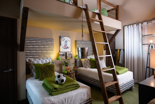 sleep and play 25 amazing loft design ideas for kids rh homedit com kids loft bedroom furniture sets kids loft playroom