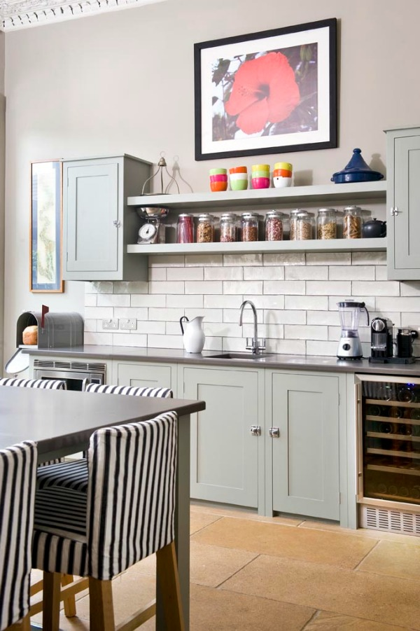 How to Style Open Shelving in a Kitchen
