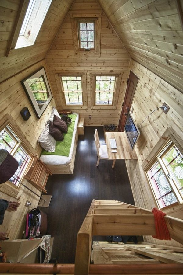 melissa perfect retreat 170 square feet - Tiny House Interior Design Ideas