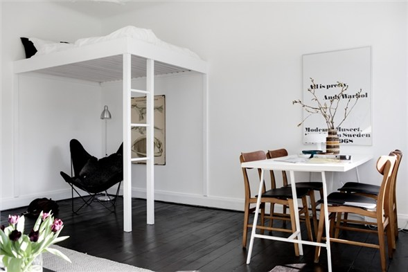 10 small one room apartments featuring a scandinavian d cor rh homedit com