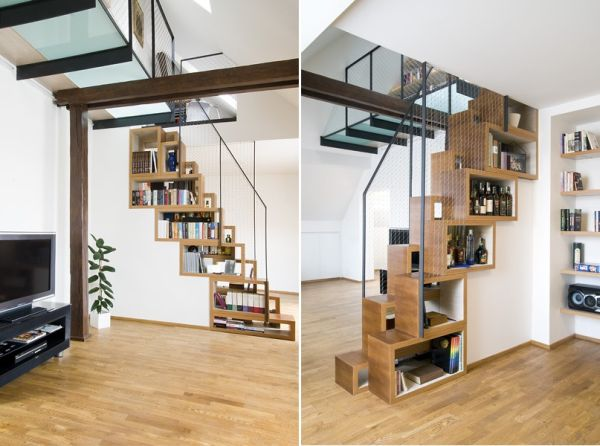 the 25 most creative and modern staircase designs. Black Bedroom Furniture Sets. Home Design Ideas
