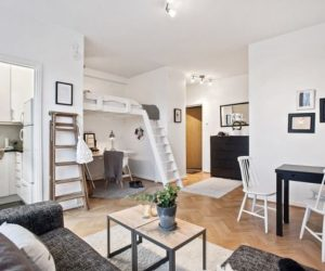 Space Saving Design In A 29 Square Meter Gothenburg Studio Apartment