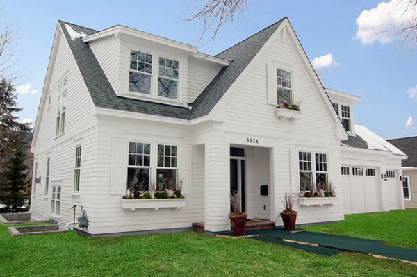 White house facades classical versatile and always for Cape cod dormer addition