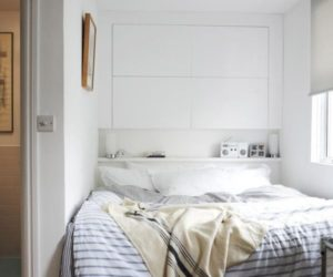 ... Headboard Storage U2013 A Simple And Smart Space Saving Idea