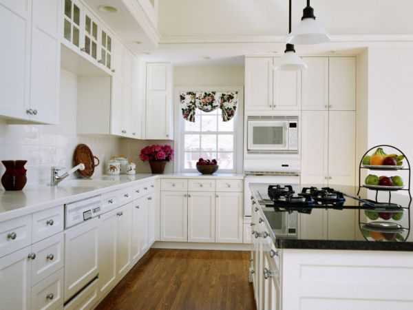 White Kitchen Interior Design chic white kitchens for 2014