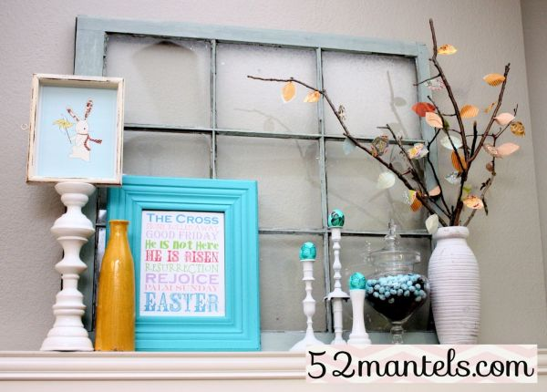 Make It Fresh Mantel Decorating Ideas For Spring