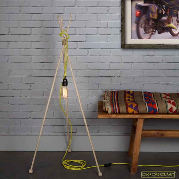Diy floor lamps 15 simple ideas that will brighten your home solutioingenieria Image collections