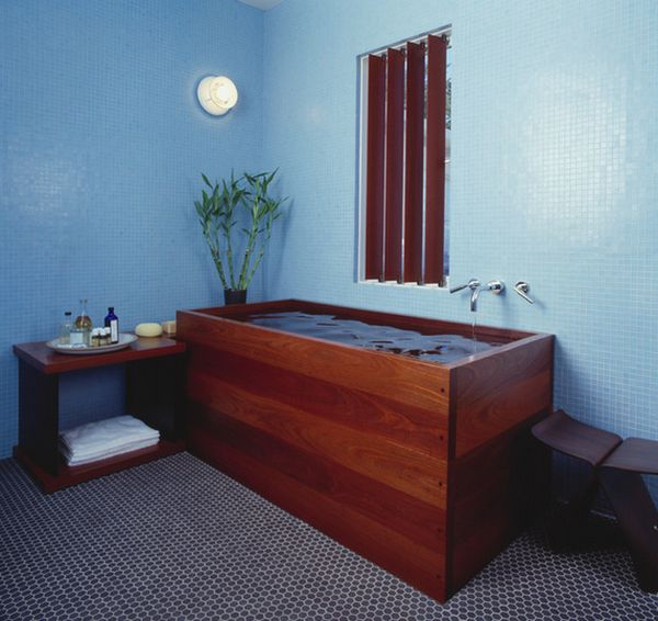 Deep-Soaking Japanese Bathtubs Turn The Bathroom Into A Spa