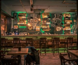 spectacular steampunk pub that defies the laws of time